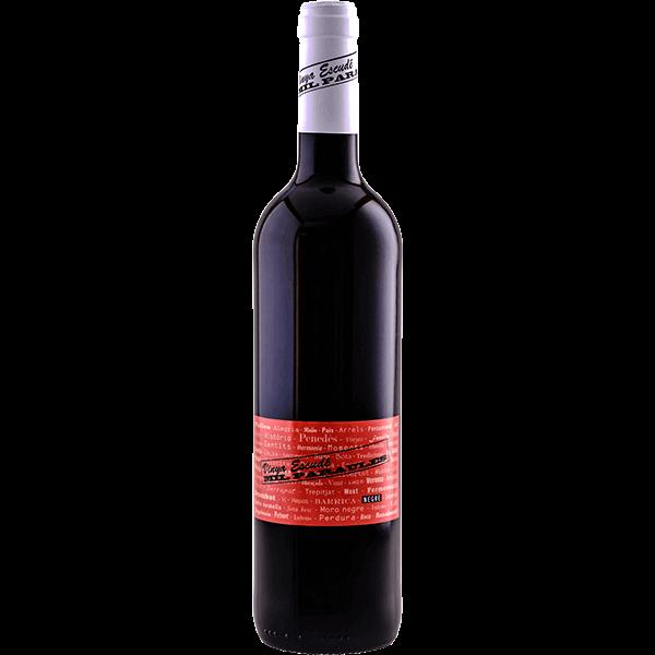 Red young wine blend Cabernet Sauvignon, Merlot and Tempranillo D.O. Penedès Vinya Escudé Mil Paraules