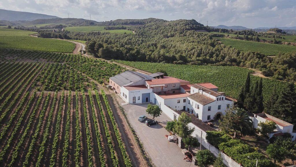 Bodega Jordi Lluch elaborador de vino y cava Vinya Escudé del Penedés