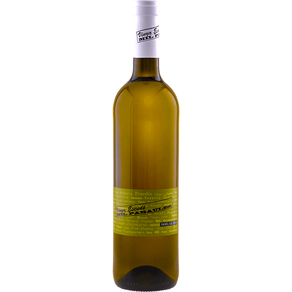 Vino blanco varietal Xarel·lo Mil Paraules Vinya Escudé