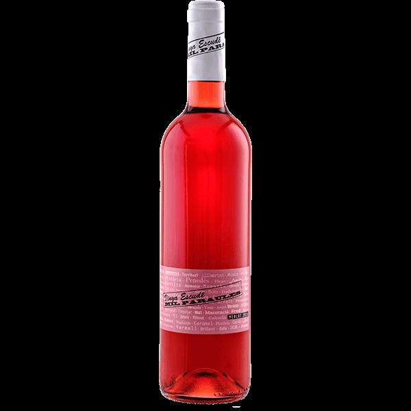 Vino rosado varietal Merlot Mil Paraules Vinya Escudé