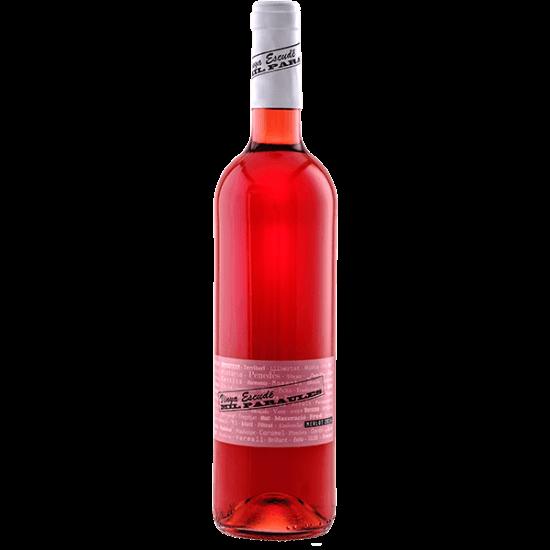 Vi rosat varietal Merlot Mil Paraules Vinya Escudé